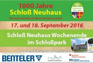 1000 Jahre Schloß Neuhaus