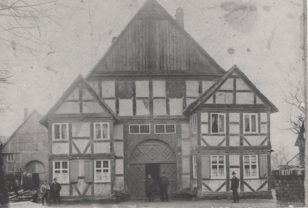 Ackerbürgerhaus Thombansen und Wecker Neuhäuser Kirchstr. von 1895